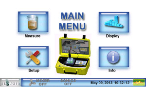 LISST-Portable|XR Main Menu