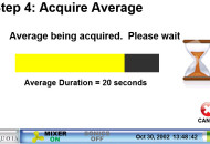 Step 4 - acquire sample average
