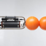 LISST-ABS including battery powered X2-SDL data logger, stainless steel frame and floats