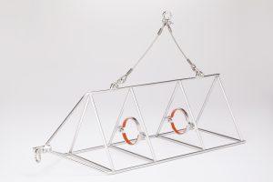LISST-Holo2 mounting frame