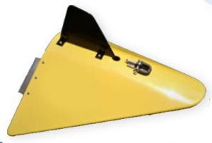 Towed underwater depressor for LISST-AOBS